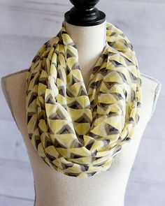 Triangle triangle infinity scarf *more colors* — Cents Of Style