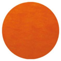 doorsnede 34 cm;  2,95 Placemat rond oranje | 10 stuks