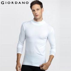 Men Underwear Mock Turtleneck Undeshirt Thermal Warm Clothes Home Interior Under wears