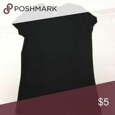 Girls black tee (M) Girls black tee (M) Cherokee Shirts & Tops Tees - Short Sleeve