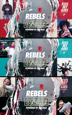 We were called by Nike Portland to develop REBELS ON AIR brand identity for AIR MAX day 2017. This identity will be displayed on various platforms such as posters, banners, web videos, iTunes Podcast, Spotify Playlist, etc. The idea is broadcasting the …