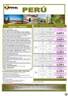 PERU. Circuito Mundo Andino 11 días/9 noches. Salidas desde Madrid desde 2.699 € ultimo minuto - http://zocotours.com/peru-circuito-mundo-andino-11-dias9-noches-salidas-desde-madrid-desde-2-699-e-ultimo-minuto/