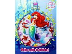 Livro Infantil Disney A Pequena Sereia - DCL
