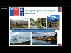 The English Opens Doors Program of the Chilean Ministry of Education and The United Nations Program for Development in Chile is proud to share its Youtube ch...