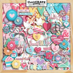 Create Crate Monthly: Sweet Talk