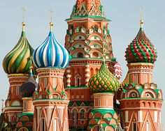 when i was little, i used to think that st. baslls cathedral was the place on candyland.