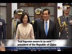 蔡英文與陳建仁就任第14任正副總統 President Tsai Ing wen is inaugurated—宏觀英語新聞