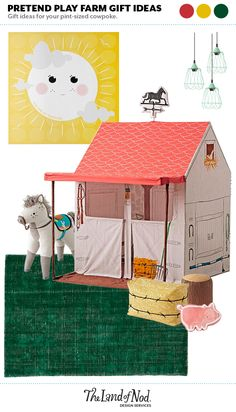 Pretend Play Farm Gi