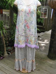 b41d19b5153 Tunic and bloomers Magnolia Pearl, Crushed Velvet, Antique Lace, Just Love,  Tie