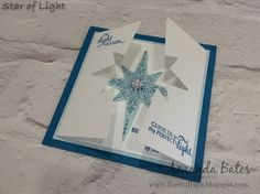The Craft Spa - Stampin' Up! UK independent demonstrator : Star of Light Double Die Cut Square Card