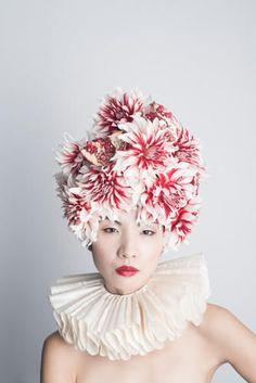 Outlandish Headpieces : HANAYUISHI TAKAYA