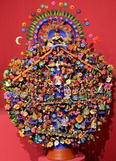 Arboldelavida El árbol de la vida de Metepec
