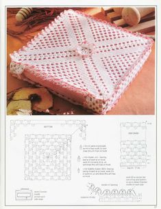 World crochet: Decoration 12