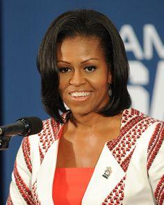 Michelle Obama sans frange