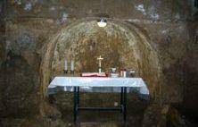 Las catacumbas de San Calixto en Roma