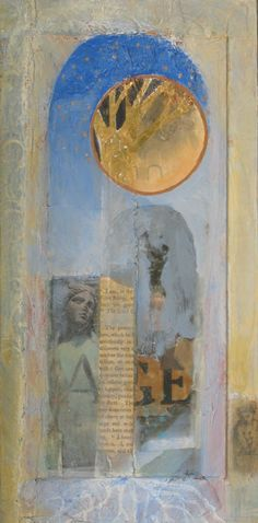 age ~ mixed media ~ by dawn chandler