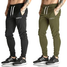 Mens Gym Sport Trousers Tracksuit Bottoms Skinny Joggers Sweat Pants | Clothing, Shoes & Accessories, Men's Clothing, Pants | eBay!