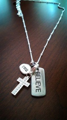 Believe!! Origami Owl! #origamiowl #taggedcollection #dangle www.charmingkayla.origamiowl.com