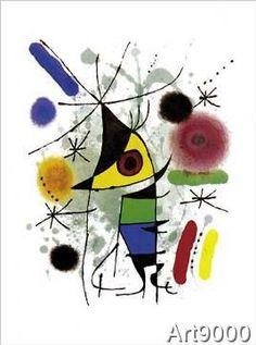 Joan Miró - Singing Fish