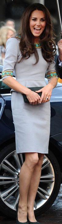 Duchess of Cambridge in Matthew Williamson's pre-fall 2012 collection