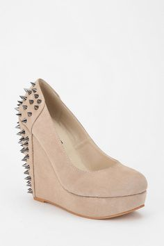 Sophie  Pretty/Tough #urbanoutfitters #spike #stud #wedge #platform