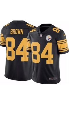 NFL PITTSBURGH STEELERS COLOR RUSH STITCHED JERSEY 819066-010 Antonio Brown   Nike  PittsburghSteelers 18a45eb82