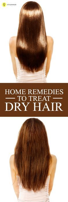 Here are the 13 dry hair kitchen #treatments you can try at home for soft, healthy and manageable hair #hair #haircare