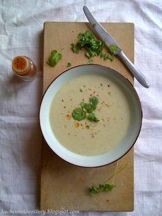Cream Soup W/ Roasted Fennel