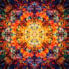 Image discovered by Anna Jarden. Find images and videos about kaleidoscope and ✺ on We Heart It - the app to get lost in what you love. Cool Patterns, Beautiful Patterns, Textures Patterns, Print Patterns, Fractal Art, Fractals, Kaleidoscope Images, Futuristic Art, Textile Fiber Art