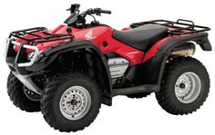 Four Honda 4 Wheeler