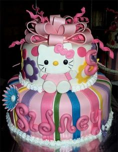 Delanas Cakes: Hello Kitty