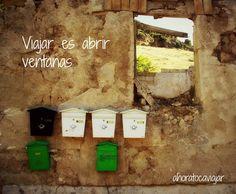 Abre ventanas en tu #vida #Viajar