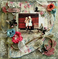 Reneabouquets's Gallery: Love Today *Scraps Of Darkness* August Kit~Weathered And Worn