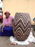 African basket maker