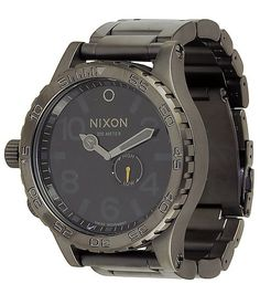 Nixon 51-30 Gunmetal Watch