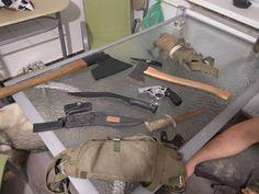 #gun #axe #knife #weapons