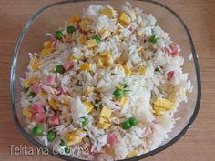 Telita - arroz primavera (arroz chau-chau, arroz chao-chao ou, ainda, arroz xau-xau)