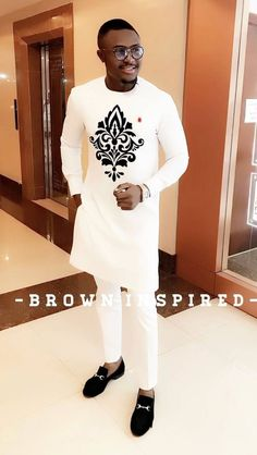 Best fit for Traditional Nigerian men African Shirts For Men, African Dresses Men, African Attire For Men, African Clothing For Men, African Wear Styles For Men, African Style, Nigerian Men Fashion, African Men Fashion, Mens Fashion