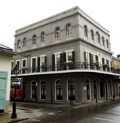 Madame LaLaurie was born in 1775 in New Orleans as Delphine Macarty to a prominent aristocratic family.   In 1831, she bought a property at 1140 Royal Street in the New Orleans French Quarter, and managed the building of a three-story mansion, complete with adjoining slave quarters.  Delphine became known for her sadistic treatment of slaves...