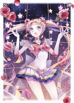 Master Anime Ecchi Hentai Picture Wallpapers Magic Girls Armor Clothing Style Interacts Moon Scene Drawing Illustration (http://epicwallcz.blogspot.com/) Knee Boots Elbow Gloves Butterfly Floating Jewelry Pleated Skirt Ripples Tiara Legs Thighs (http://masterwallcz.blogspot.com/)