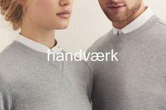 Logo for fashion brand Håndværk designed by Savvy