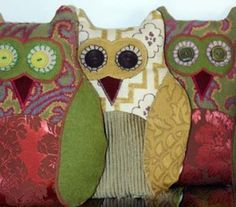 Adorable Owl Pattern £8.00