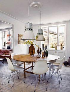dlaczego warto wybrać okrągły stół? // why you should choose a round table for dinning room?