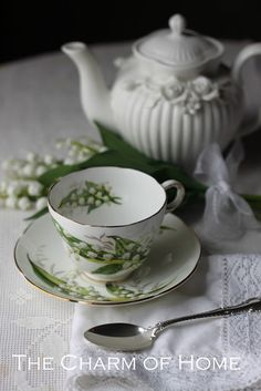 The Charm of Home: The Year in Tea