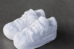 Crochet Sneakers for Babies from Picasso Babe   Highsnobiety