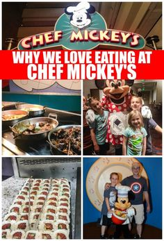 If you are looking for a great Disney Character Dining for Families, you are going to want to add Chef Mickey's Disney World Character dining to your plans. #Disney #MickeyMouse #Pluto #MinnieMouse #DisneyDining