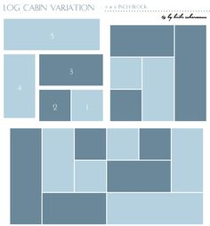 """Fabric Requirements 2 different prints, I recommend a light and a dark one Cutting Cut fromeach 4 squares 1.5"""" x 1.5"""" 4 strips 1.5"""" x 2.5"""" 2 strips 1.5"""" x 3.5"""" Piecing the Block Please, refer to thediagrambelow for the following steps. Stitch 4 pieced squares to make a whole 6"""" block, following the numbers…"""