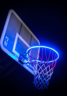 HoopLight™ - see your basketball hoop light up when you score. HoopLight™ is the world's very first sensor-activated basketball LED designed for any hoop.