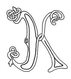 celtic-letters-k.jpg 531×591 pixels