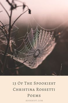 Dig into these spooky, haunting poems by Christina Rossetti. Christina Rossetti, Poems, Reading Lists, Short Stories, Halloween Ideas, Authors, Articles, Challenges, Fall